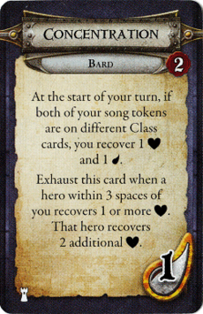 Bard - Concentration