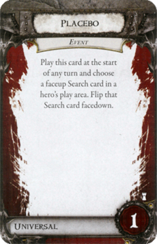 Overlord Card - Placebo
