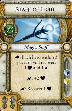 Hero Relic - Staff of Light