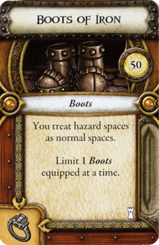 Act I Item - Boots of Iron