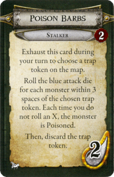 Stalker - Poison Barbs