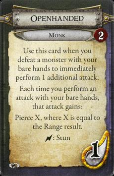 Monk - Openhanded