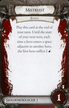 Overlord Card - Mistrust