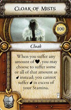 Act I Item - Cloak of Mists