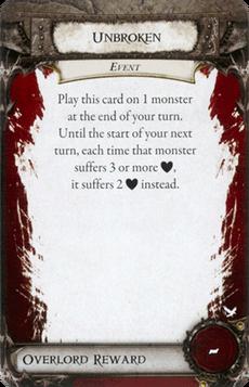 Overlord Card - Unbroken