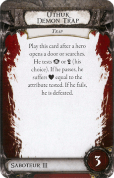Overlord Card - Uthuk Demon Trap