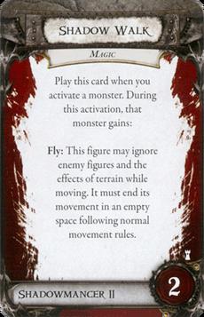 Overlord Card - Shadow Walk