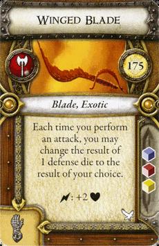 Act II Item - Winged Blade