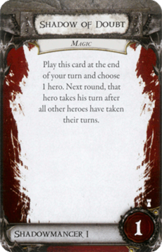 Overlord Card - Shadow of Doubt