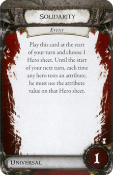 Overlord Card - Solidarity