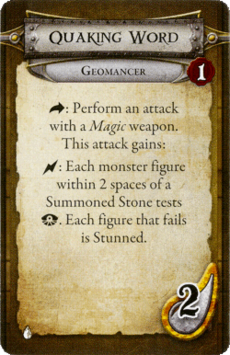 Geomancer - Quaking Word