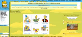 SimpsonsWiki theme