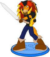 Lion Guy DesiRiseofShadowLugia Amiibo