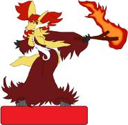 Female Delphox NFC