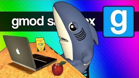 Gmod School Show & Tell, Bowling Field Trip, Left Shark! (Gmod Sandbox Funny Moments & Skits)