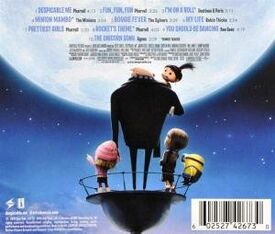 Despicable Me Soundtrack backside