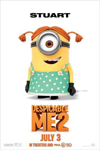 File:DESPICABLE-ME-2-Stuart-The-Minion-Poster.jpg