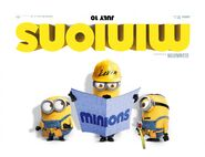 Minions Upside Down Banner