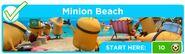 Minion Beach banner
