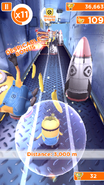 Minion Rush Minion Shield in Use