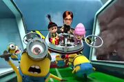 Minion mayhem scene