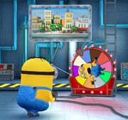 Fortune Wheel minion rush