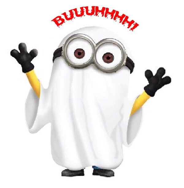 minion coloring pages halloween ghosts - photo#35