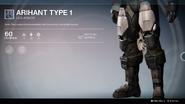 Arihant Type 1 (Leg Armor) UI