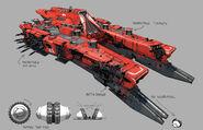 D2 Gunship concept art