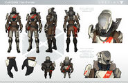 Destiny Titan 2 Character Sheet