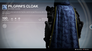 Pilgrim's Cloak UI