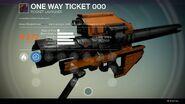 One Way Ticket 000