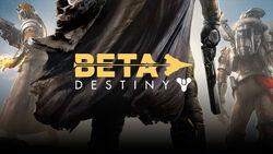 『Destiny』BETAのロゴ。