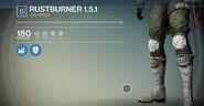 Rustburner 151-legs