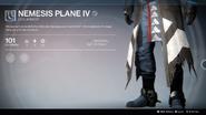 Nemesis Plane IV (Leg Armor) UI