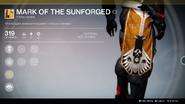 Mark of the Sunforged UI