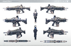 Destiny Assault Rifle 1