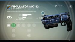 Regulator Mk