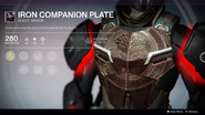 Iron Companion Plate UI