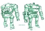 Power Suit Soldiers (Concept Art)
