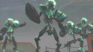 Awesome nexosporidium warrior