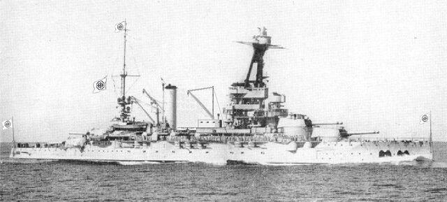 File:French Nazi Battleship Lorraine.jpg