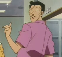 Kogoro returns ring