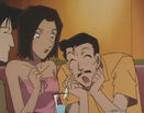 Kogoro at the bar