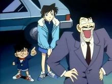 Kogoro takes the credit