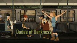 Dudes of Darkness Tittlecard
