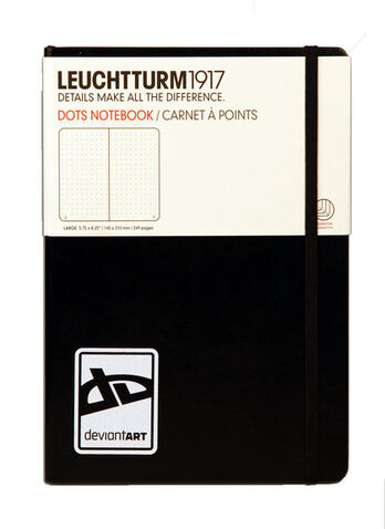 DA Large Notebook by Leuchtturm