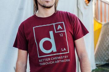 Better Chemistry Through Artwork T-Shirt -- Brick