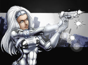 Silver Sable Coloured by Scorch D