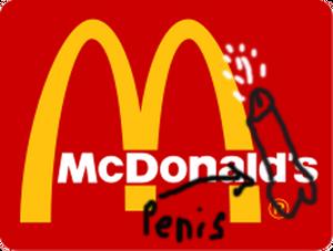 McDonald'sPenis
